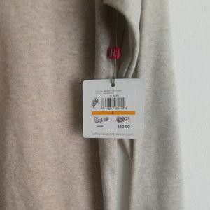 Rafaella Tops - Rafaella Mid-Sleeve Top With Bedazzled Collar